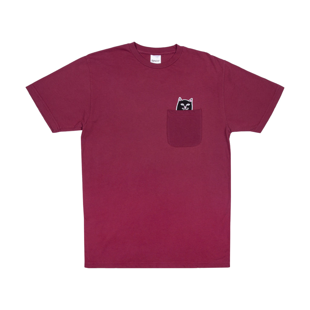 Lord Jermal Pocket Tee (Wine)