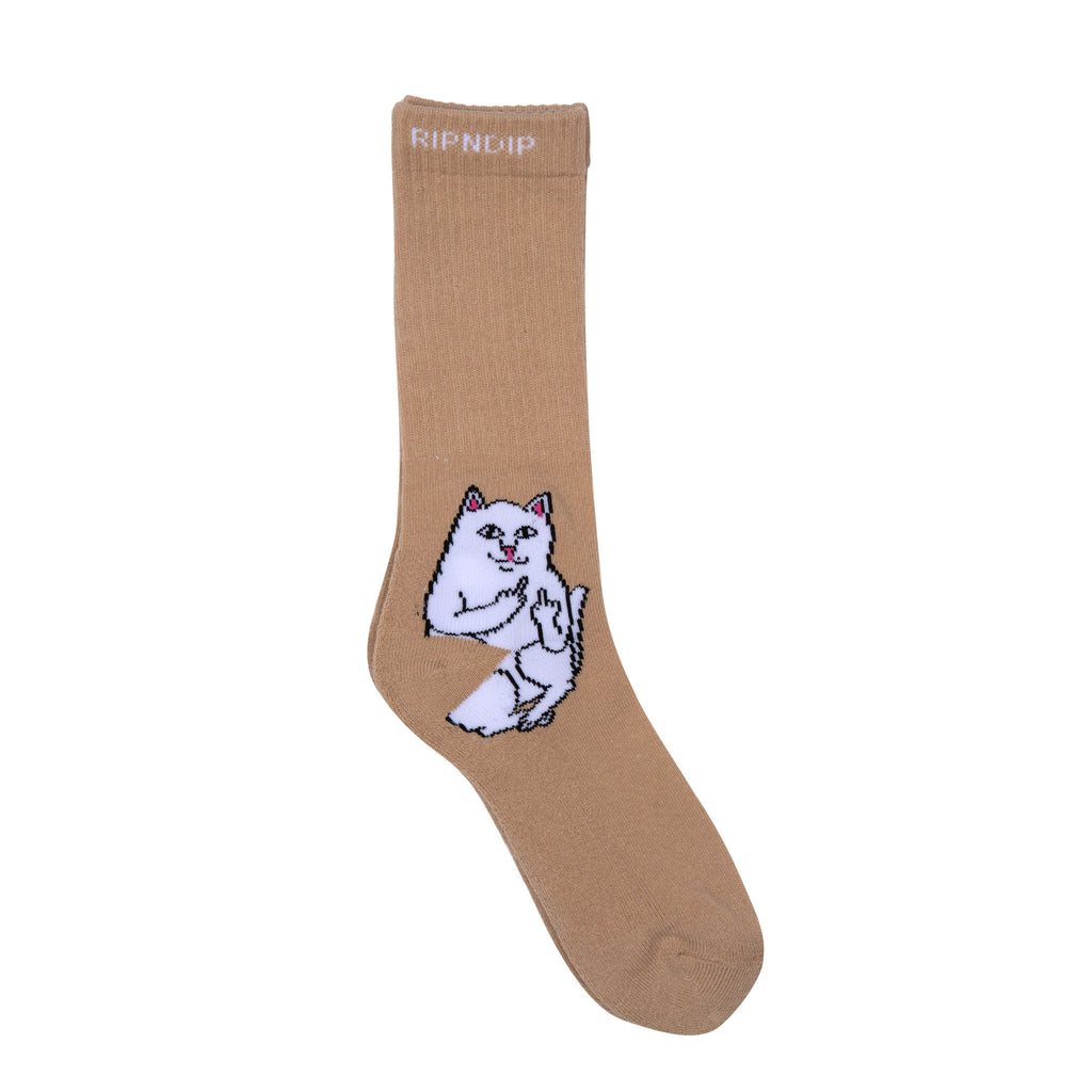 Lord Nermal Socks (Tan)