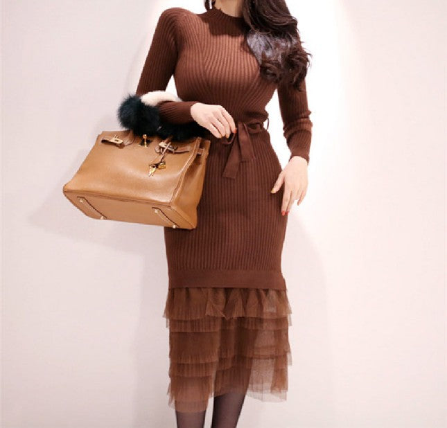 Rosa Knit Gauze Dress