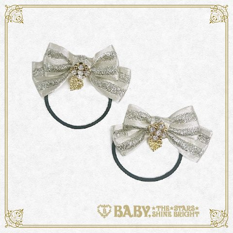 B42HA984 Mini Stripe Ribbon Hairband