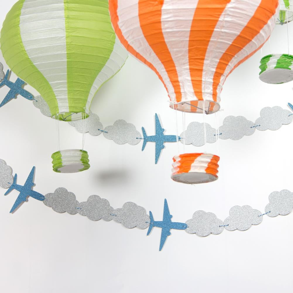 Airplane Cloud Garland - Sunbeauty