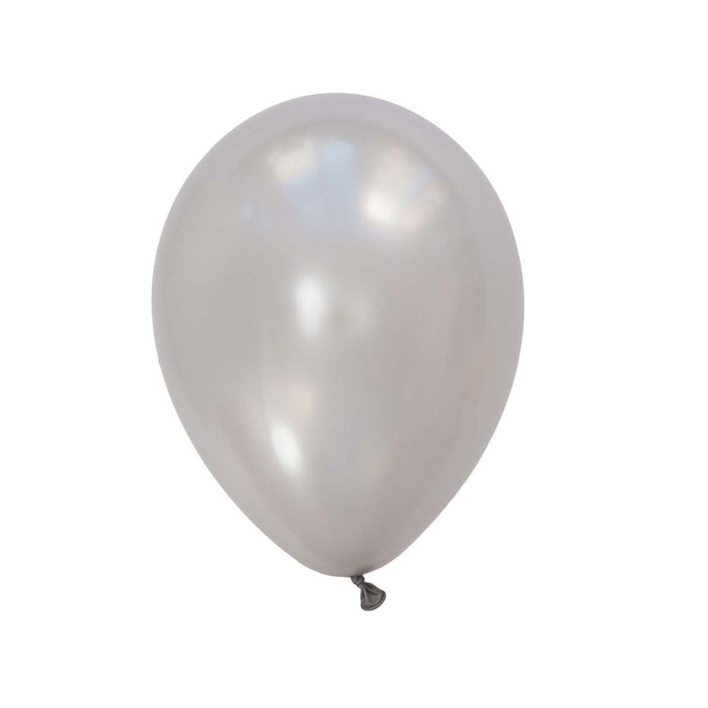 5Pcs Gray Latex Balloon Kit - Sunbeauty