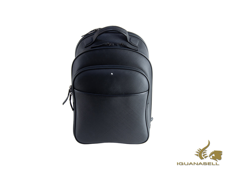Montblanc Extreme Backpack, Leather, Black, Laptop compartment, Zip, 113856