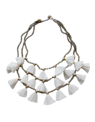 Gia Necklace - Salt