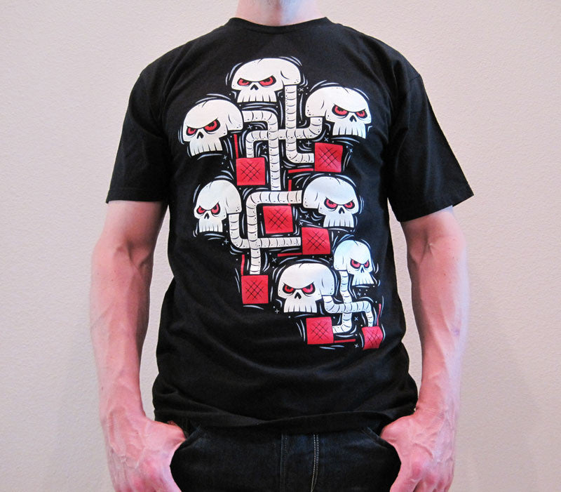 Skully Boxes Men's T-Shirt