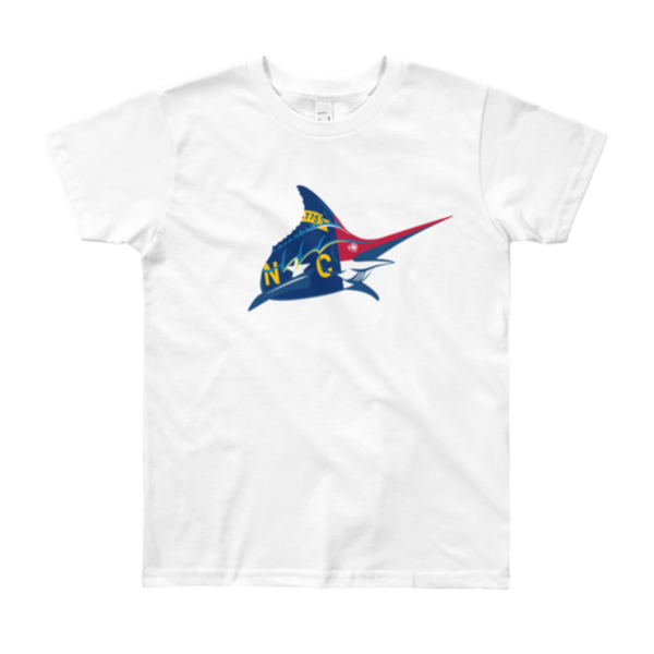Kids NC Flag Tee - Atlantic Drift