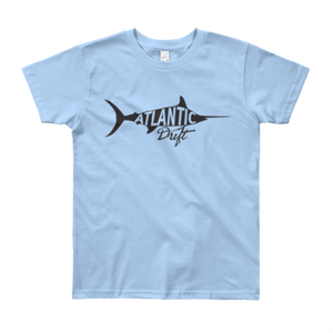 Kids Old Blue Tee - Sky Blue - Atlantic Drift