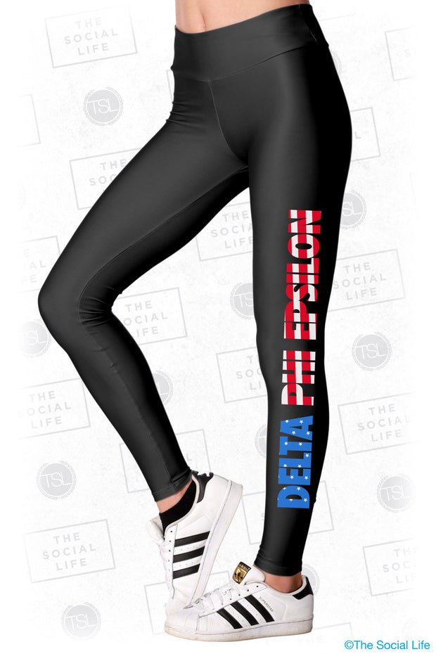 Delta Phi Epsilon USA Leggings
