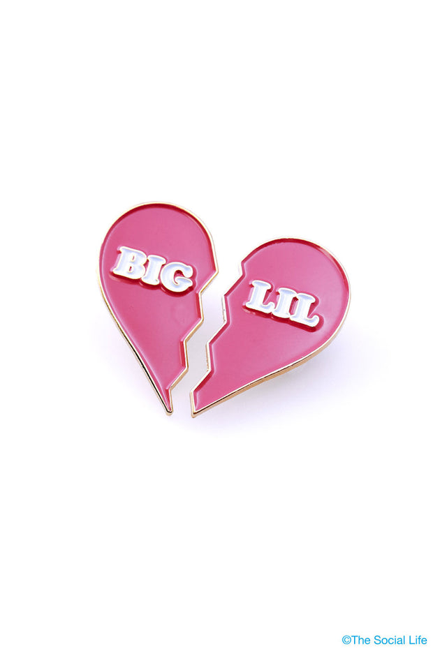 Big & Lil Heart Pins