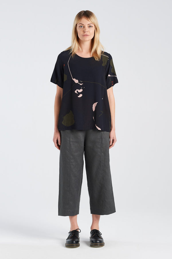 ARC TOP | RORSCHACH - NYNE - NZ Made Women's Clothing