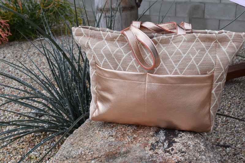 Sunset Diaper Bag Rose