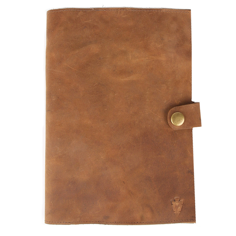 Travel Journal in Crazy Horse Leather