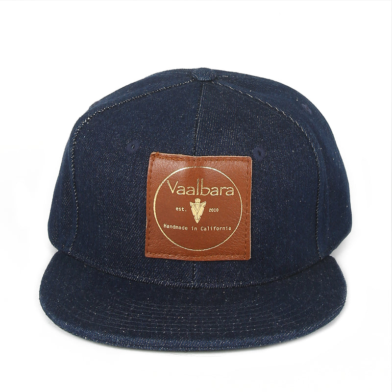 VAALBARA BASEBALL CAP IN DARK DENIM