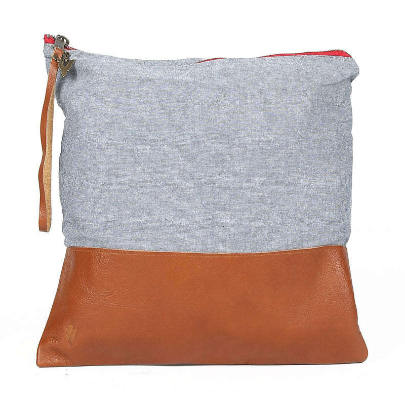 Chambray Clutch