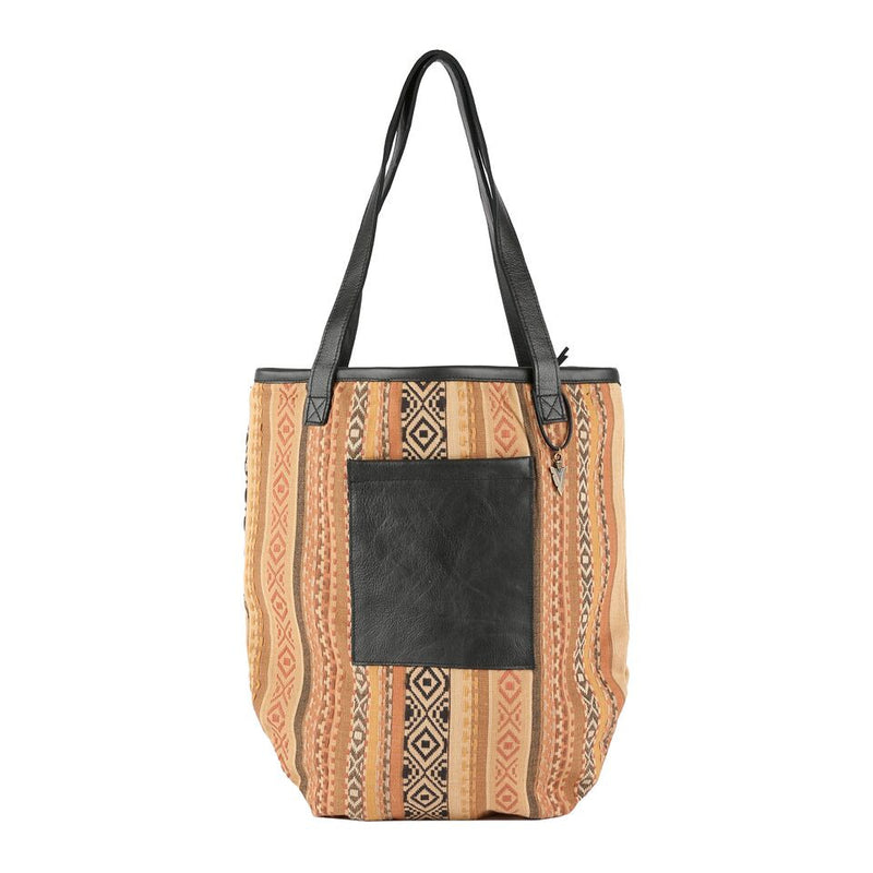 Taylor Tote Bag Indira in Black Leather
