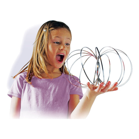 GeoFlux® - Amazing Mesmerizing Interactive Spring Toy NOW, includes Geoflux Mini (finger size!)