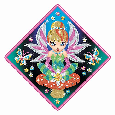 FAIRY Sequin Art® Stardust DIY Sparkling Crafts Picture Kit