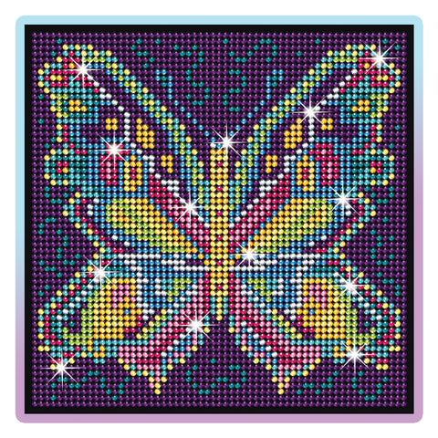 BUTTERFLY Diamond Art by Sequin Art® - Sparkling Arts & Crafts DIY Picture Kit