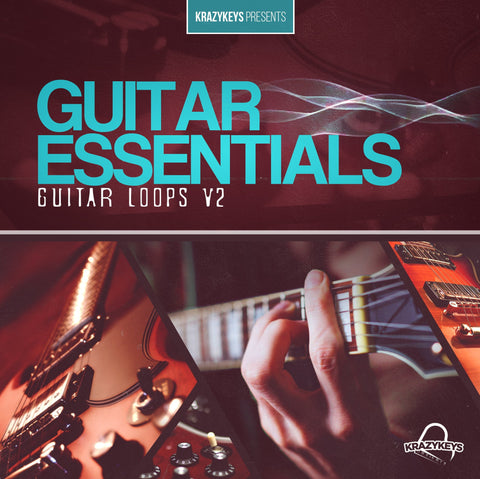Guitar Essentials Vol.2 (Loop Pack) - Royalty-Free Guitar Loops