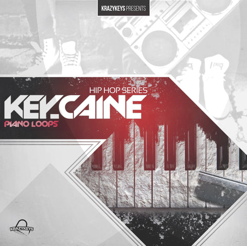 Key-Caine - 20 Royalty-Free Piano & Organ Loops