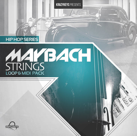 Maybach Strings (Loop & MIDI Pack) - Hip Hop Strings
