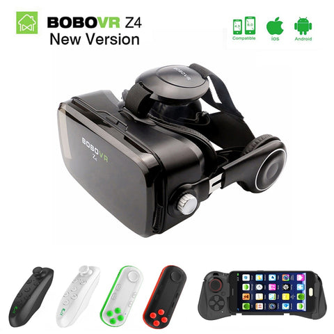 Virtual Reality goggle 3D VR Glasses Original BOBOVR Z4/ bobo vr Z4 Mini google cardboard VR Box For 4.0-6.0 inch smartphone 2.0