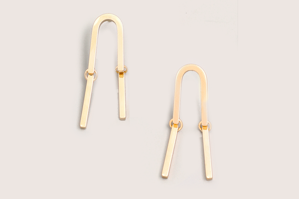 Double Take Drop Earrings