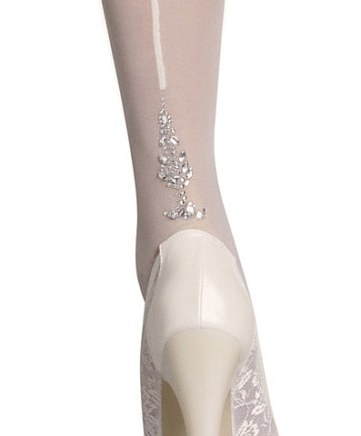 *Veronica Diamond Backseam Hold Ups by Penti