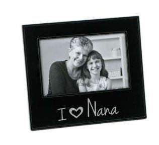 "I ""HEART"" Nana Photo Frame"