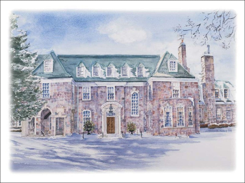 McLean Estate - Winter, 10 pack w/ Envelopes
