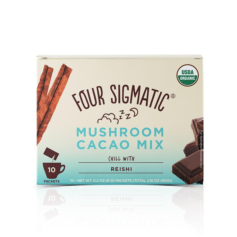 Four Sigmatic Mushroom Hot Cacao with Reishi x10 sachets