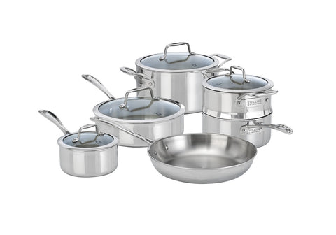 ZWILLING® VistaClad 10 PC COOKWARE SET