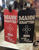 MannKrafted Laser Etched Bag Tag