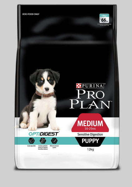 Proplan Dog - Medium Puppy Sensitive Digestion with OPTIDIGEST