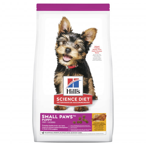 Science Diet Dog - Small Paws, Puppy 0-1 year