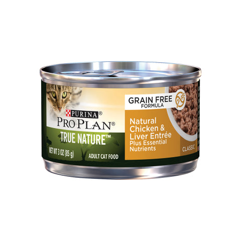 Proplan Cat - Grain Free Chicken & Liver Entree