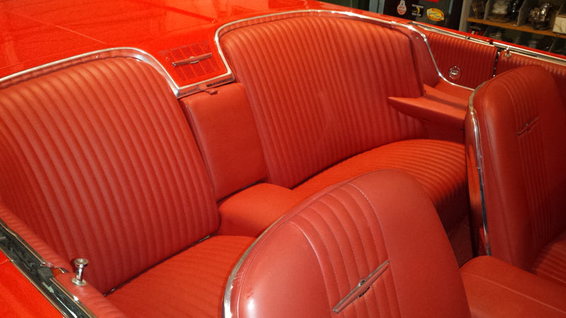Refurbishing a 1964 Ford Thunderbird Interior with ColorBond Car Interior Paint
