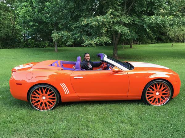 Vic Beasley's Camaro wins the 2017 Cleo Award