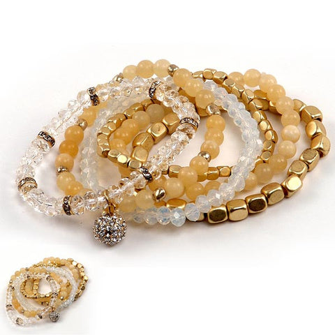 Gold Tone Stackables