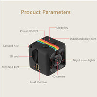 Mini Hidden Camera with Night Vision