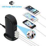 5 Port USB Charger Spy Camera