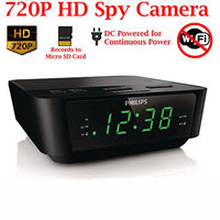 Spy Camera Clock - Digital - Spy Shop SA
