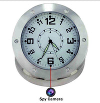Cheap Silver Camera Clock with Motion Detection