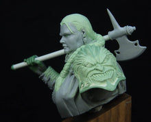 Load image into Gallery viewer, Barbara the warrior woman bust