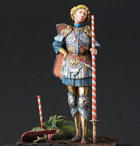 """It's a piece of cake, no need for Ascalon"" said St. George"