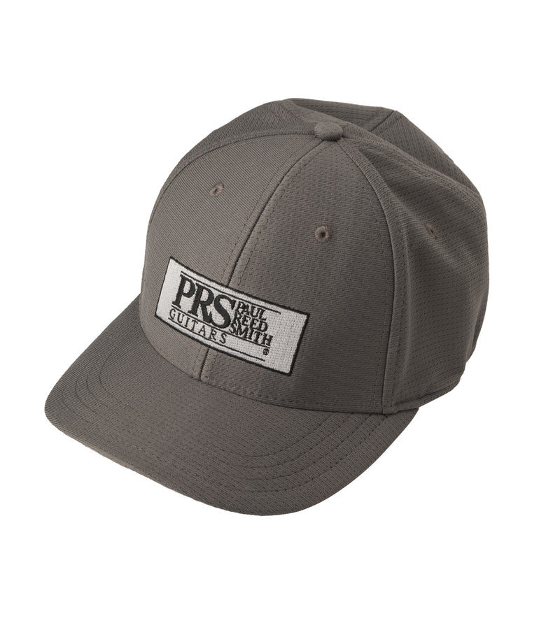 PRS Block Logo Fitted Baseball Hat, Gray