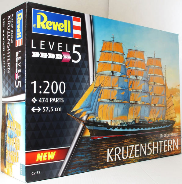 Revell 1:200 05159 Russian Barque 'Kruzenshtern' Model Ship Kit