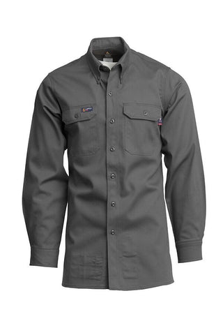LAPCO 7oz. 100% Cotton Twill FR Work Shirt