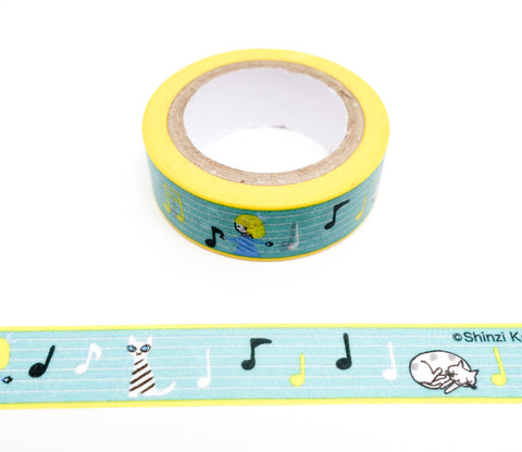 Musical Score - Shinzi Katoh Japanese Washi Tape