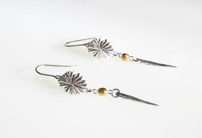 Kina Spike Earrings